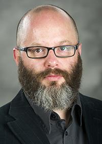 Brett Nachman, Post-Doc Researcher, Anthropology, College of Arts & Sciences. (UNCG photo by David Wilson - 11/20/2013)